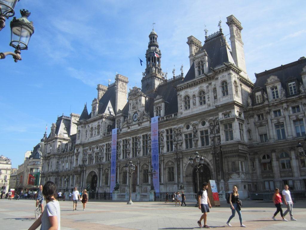 place de Grève. Париж