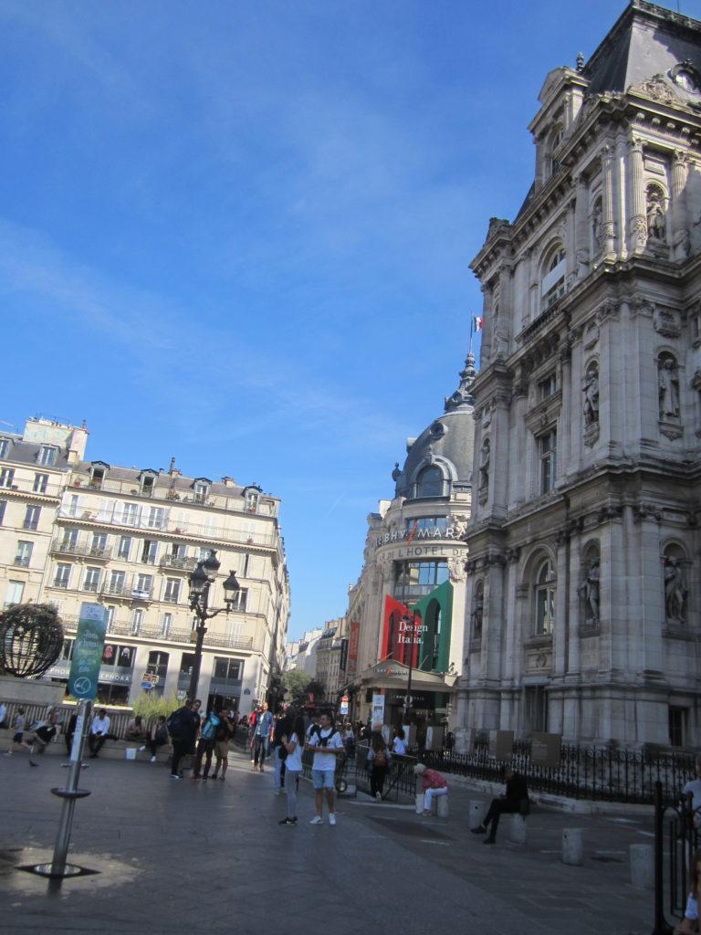 Париж, place de Grève