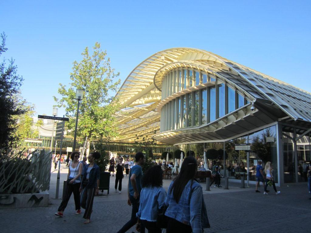 Forum des Halles. Париж