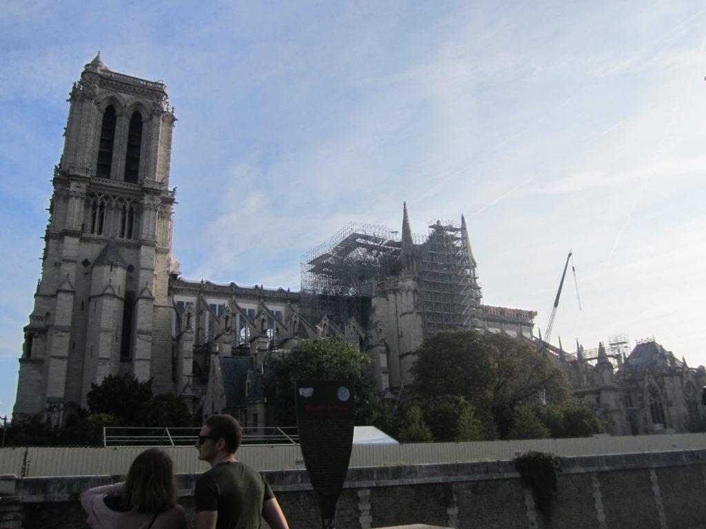 Notre Dame de Paris, сентябрь 2019