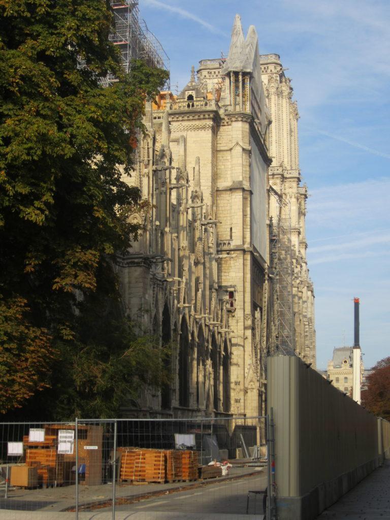 Notre Dame de Paris, восстановление после пожара