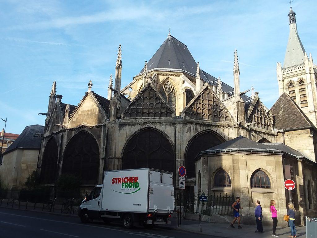 В Церковь Сен-Мерри (Église Saint-Merri),Париж
