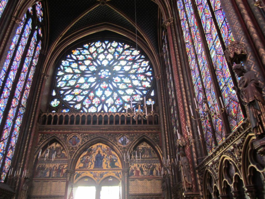 В церкви Сент-Шапель