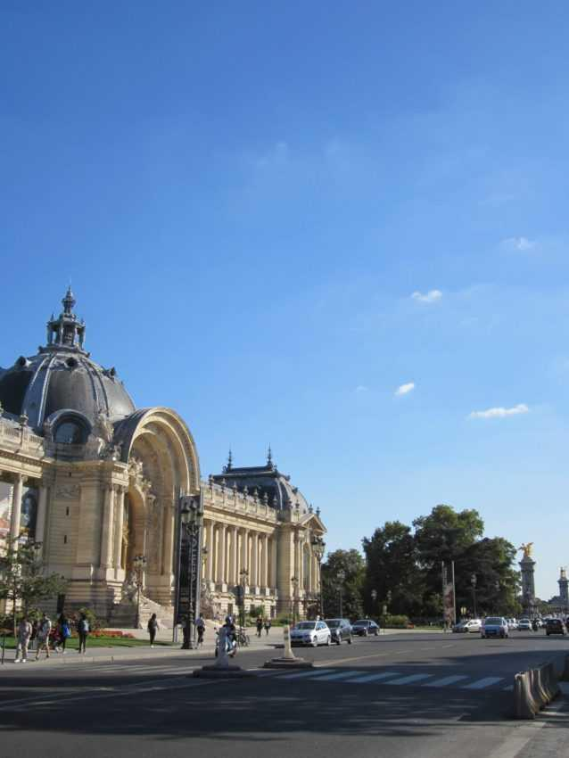 Париж. Малый Дворец
