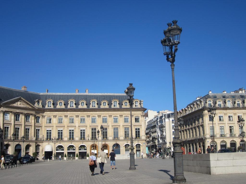 Вандомская площадь. Париж