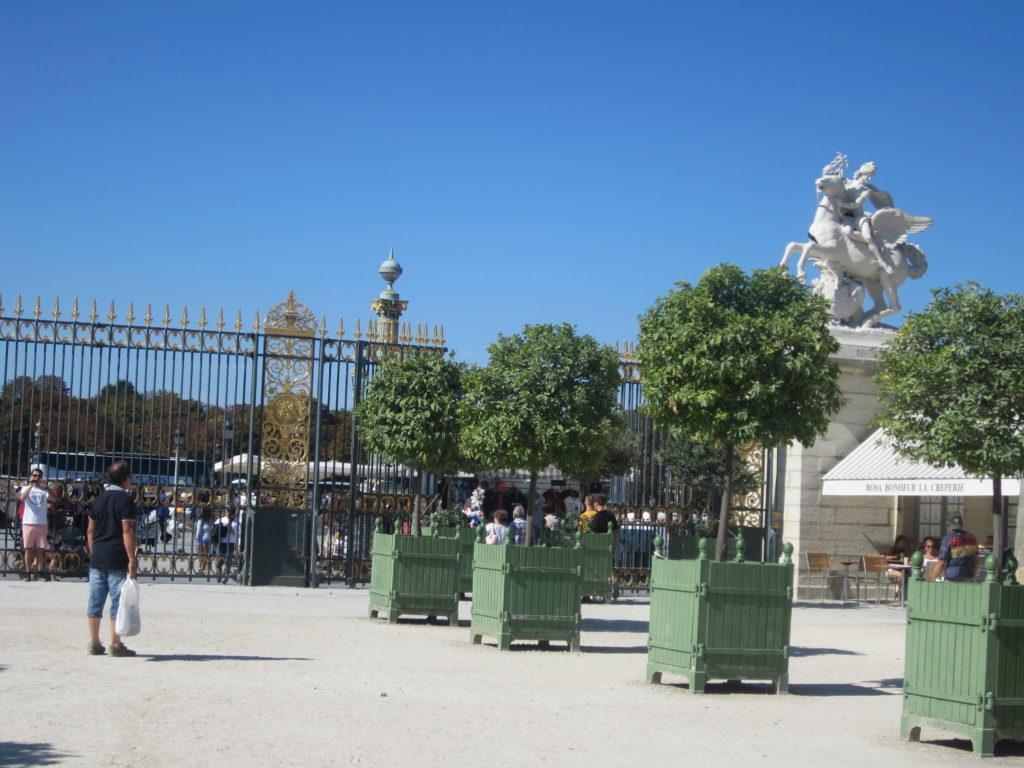 Париж. На площадь Согласия
