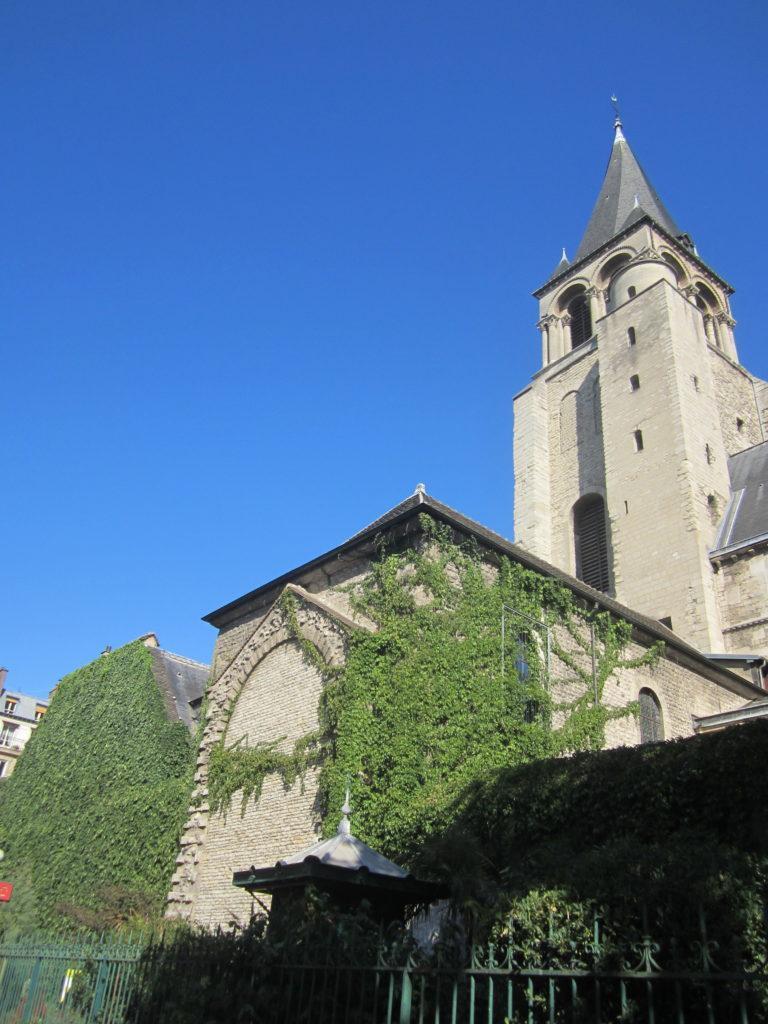Церковь Сен-Жермен-де-Пре. Париж