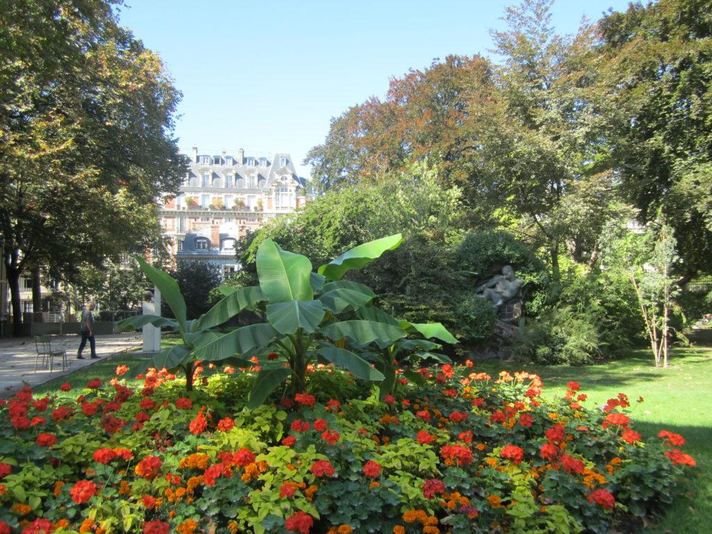 Люксембургский сад. Париж