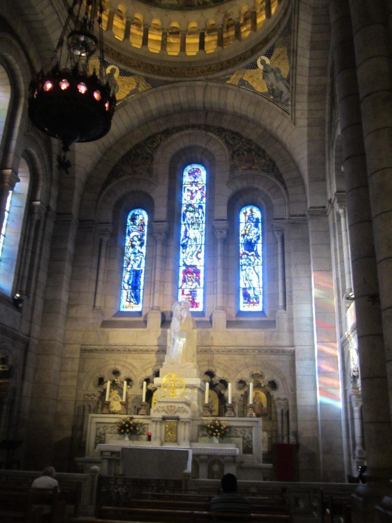 В базилике Сакре-Кёр