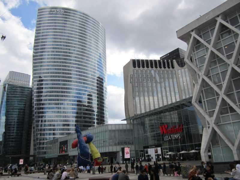 Париж. La Défense. ТЦ