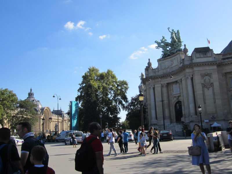Париж. Дворец Petit Palais и Grand Palais
