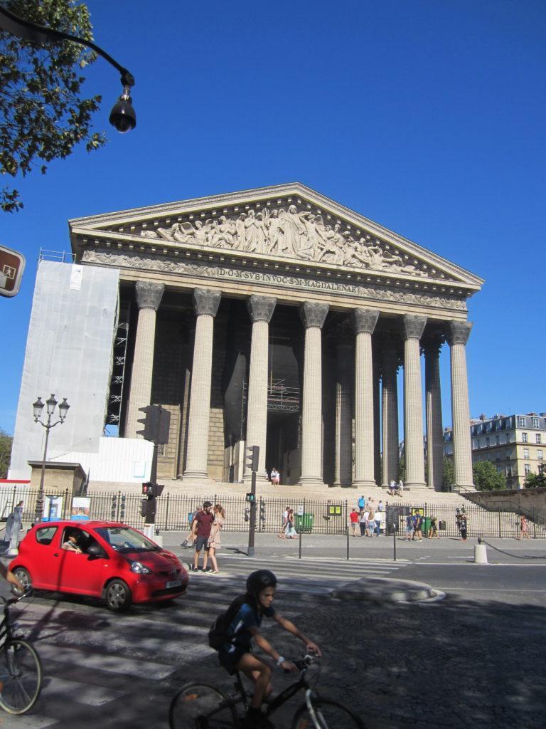 Церковь Мадлен (l'église de la Madeleine). Париж