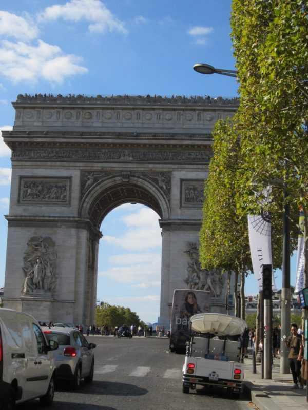 Триумфальная Арка Парижа