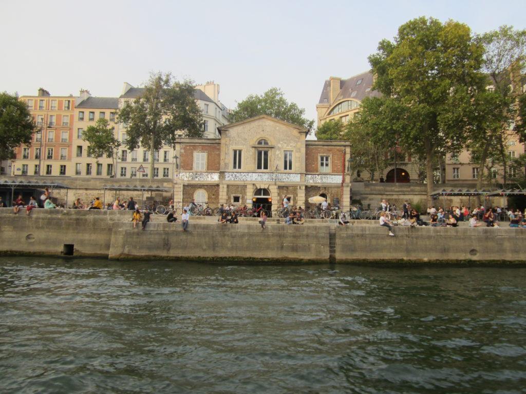 Париж. Прогулка по Сене