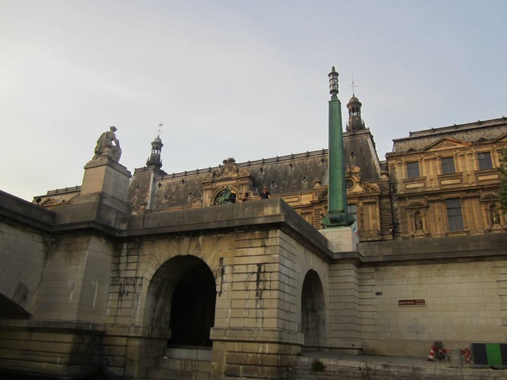 Париж. Pont du Carrousel