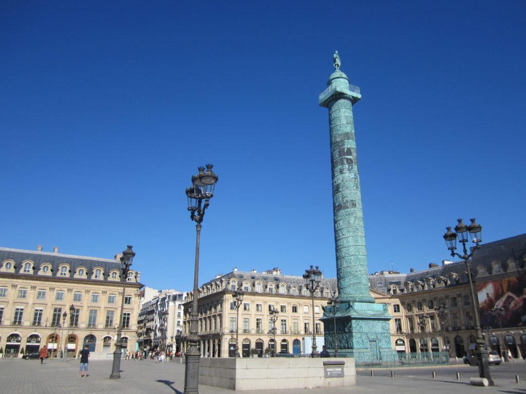 Вандомская колонна. Париж