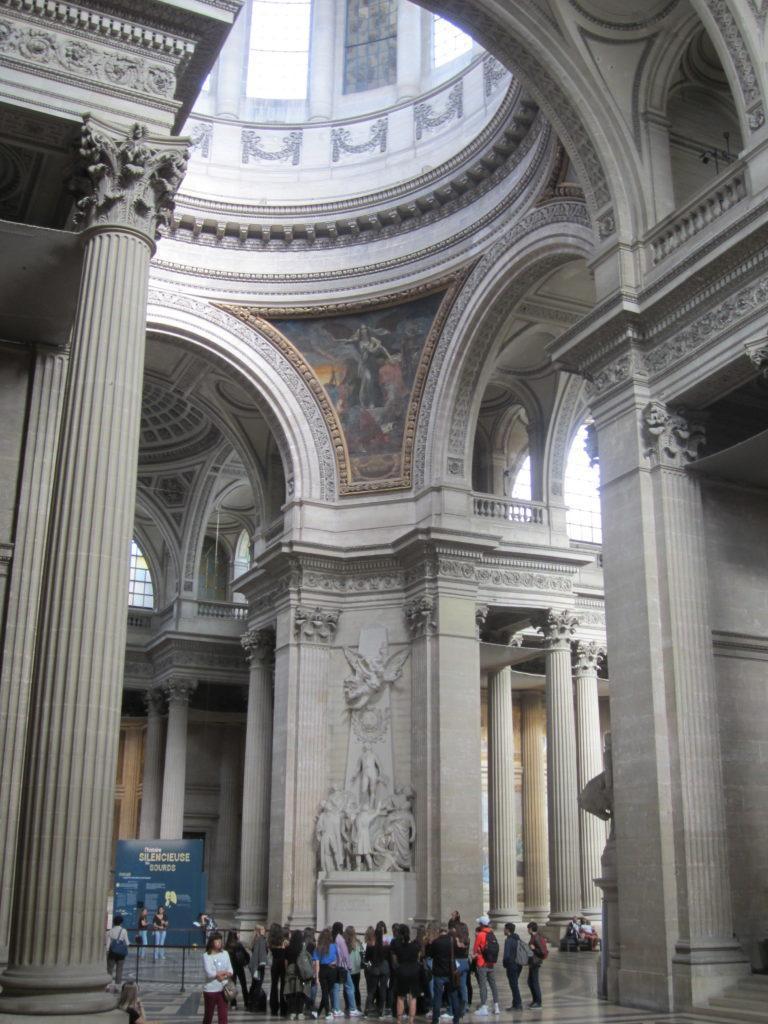 В парижском Пантеоне