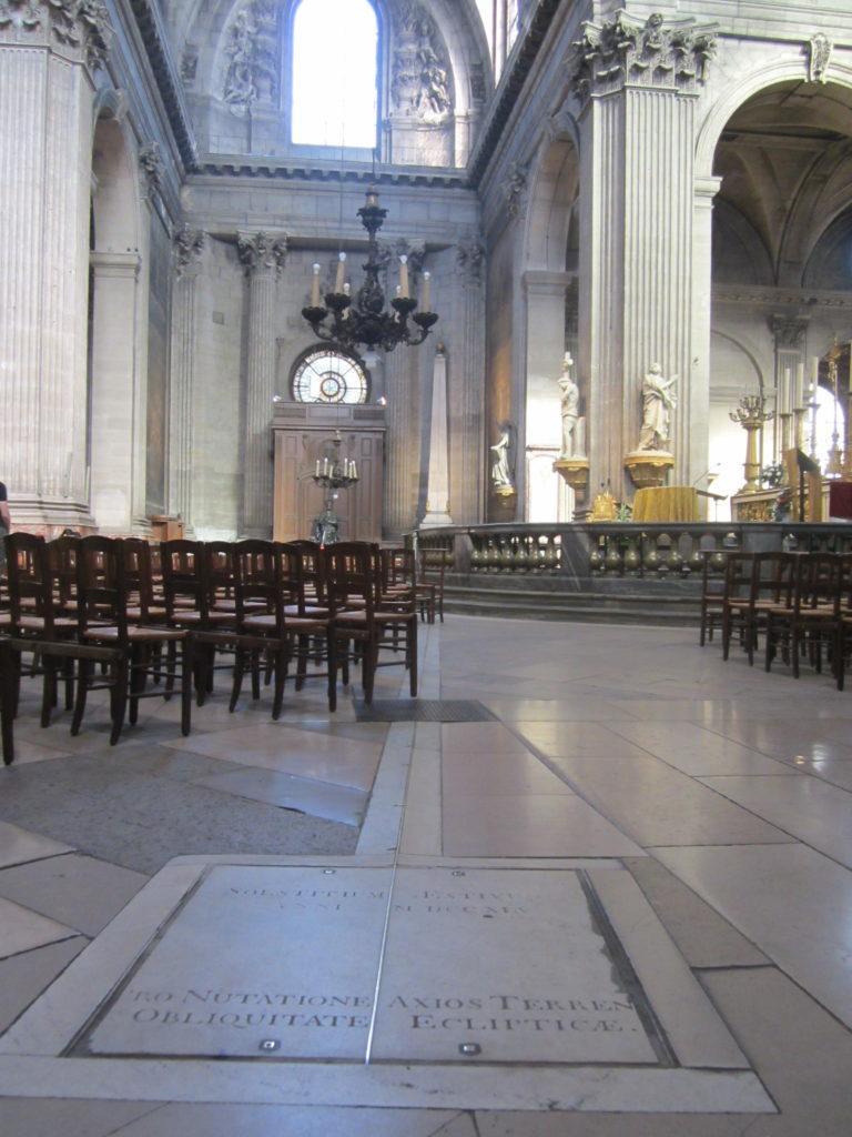 В церкви Сен-Сюльпис. Париж