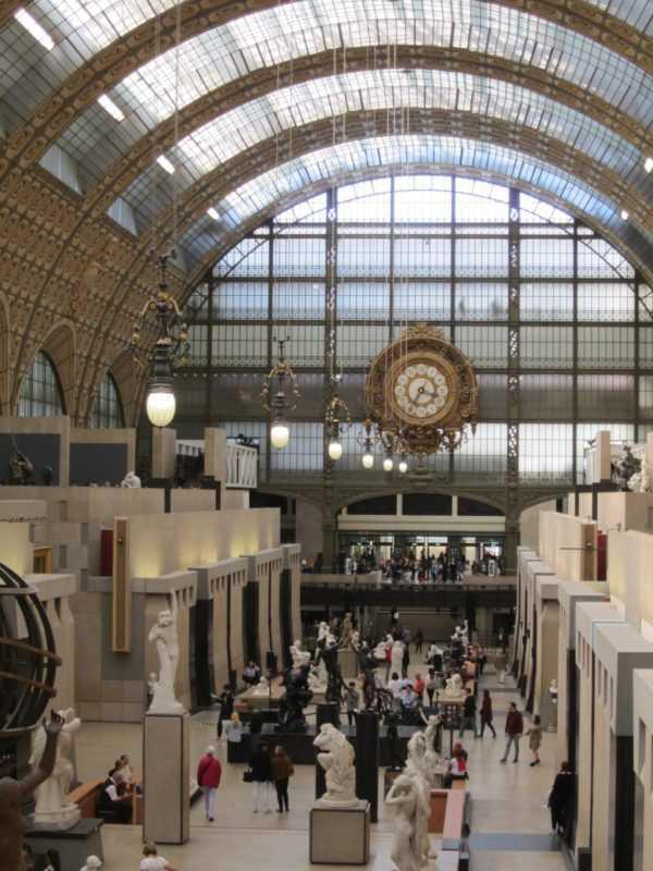 Знакомство с Парижем. Музей Орсе