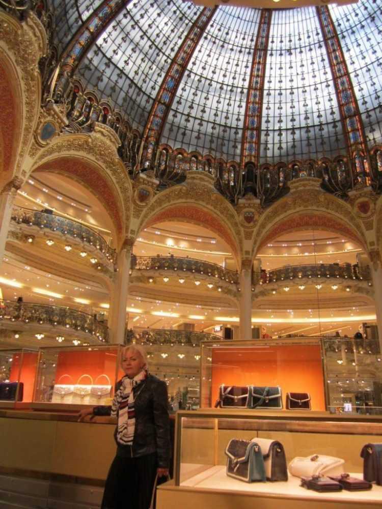 Galeries Lafayette. Париж