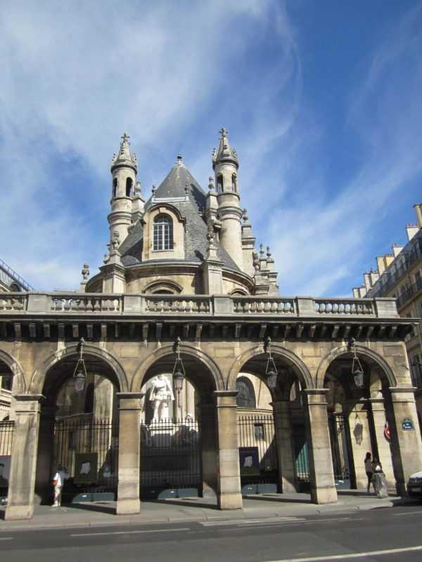 Церковь Сен-Жермен-л'Осеруа. Париж