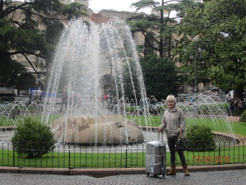 Piazza Bra. Верона