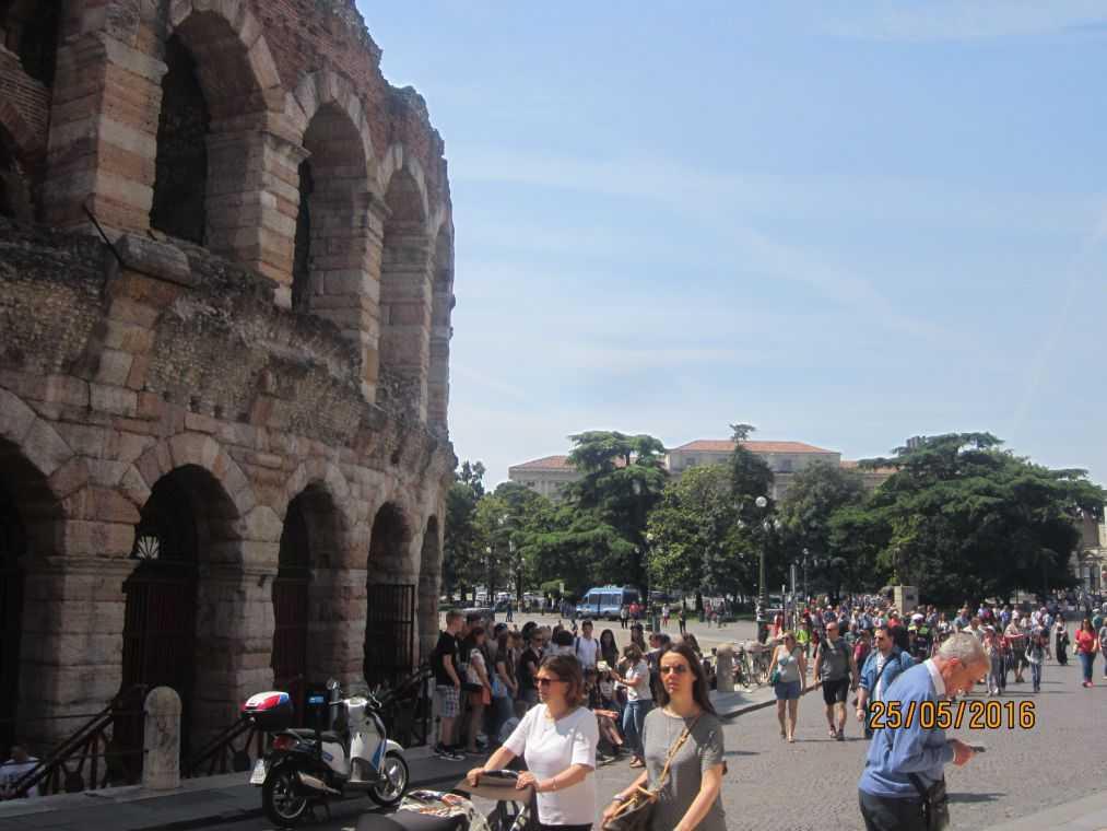 Верона. Италия. Arena-di-Verona