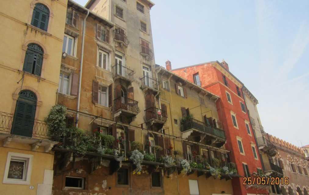 Верона. Италия — родина Джульетты и Ромео
