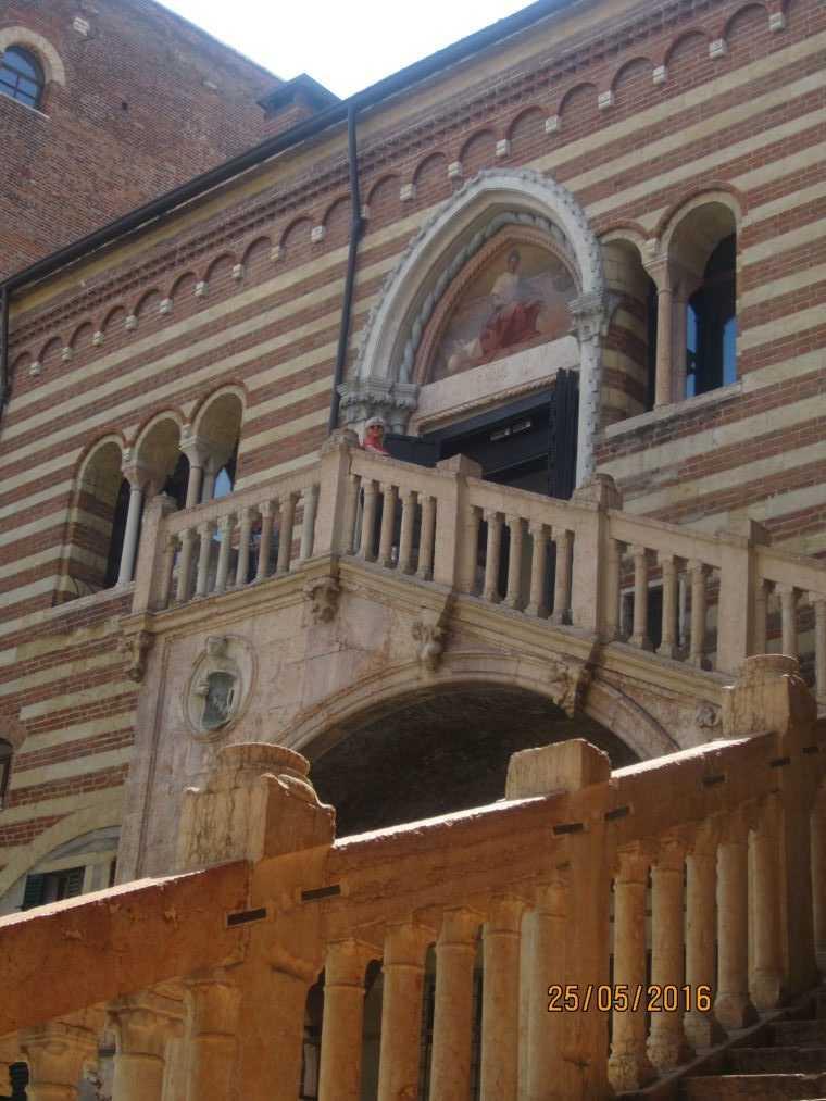 Верона. Palazzo della Ragione
