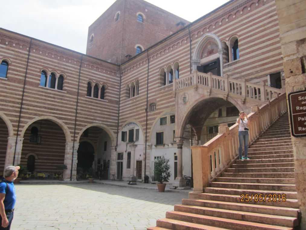 Верона. Palazzo Scaligeri