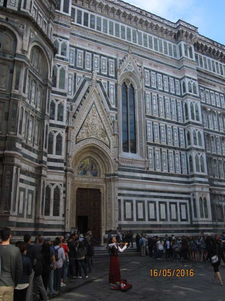 Кафедральный собор Санта-Мария-дель-Фьоре. Флоренция