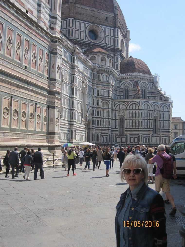 Флоренция. Кафедральный собор Санта-Мария-дель-Фьоре