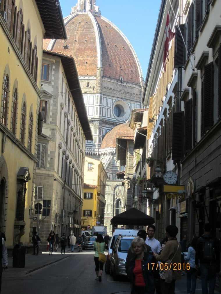 Флоренция. В собор Санта-Мария-дель-Фьоре