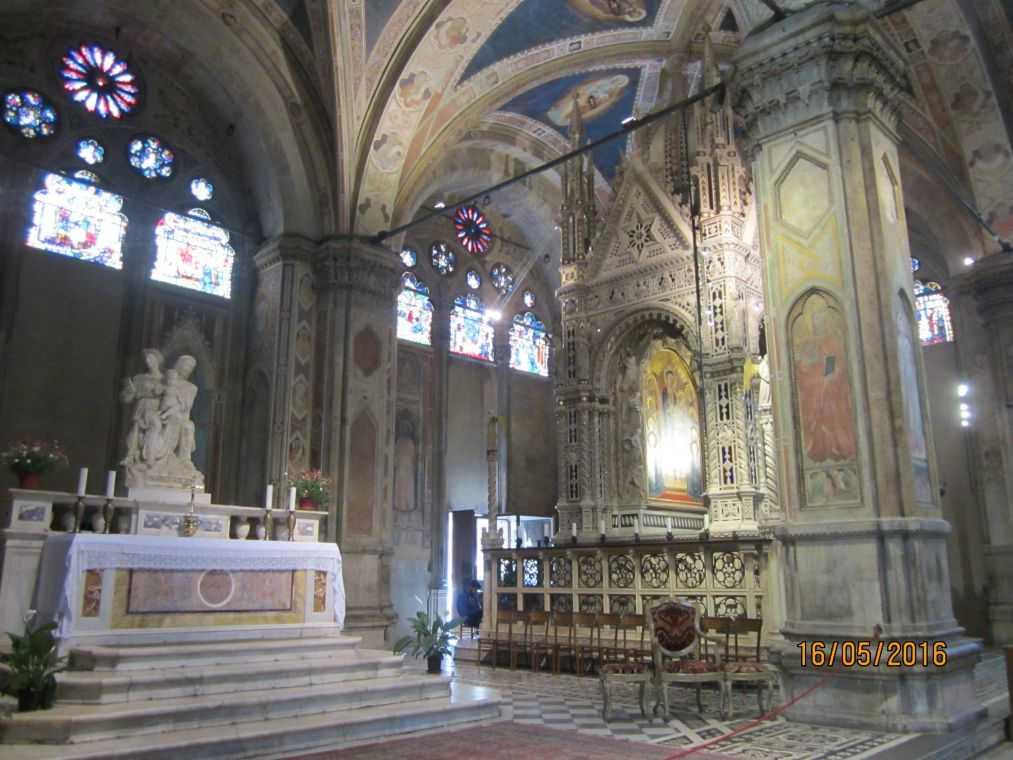 Церковь Орсанмикеле. Табернакль. 1360 год