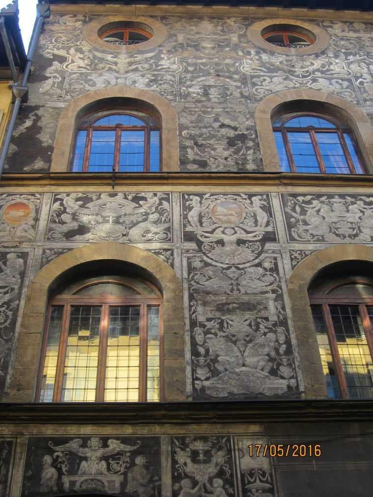 Вид из Орсанмикеле на Флоренцию