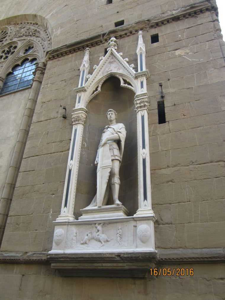 Флоренция. Церковь Орсанмикеле
