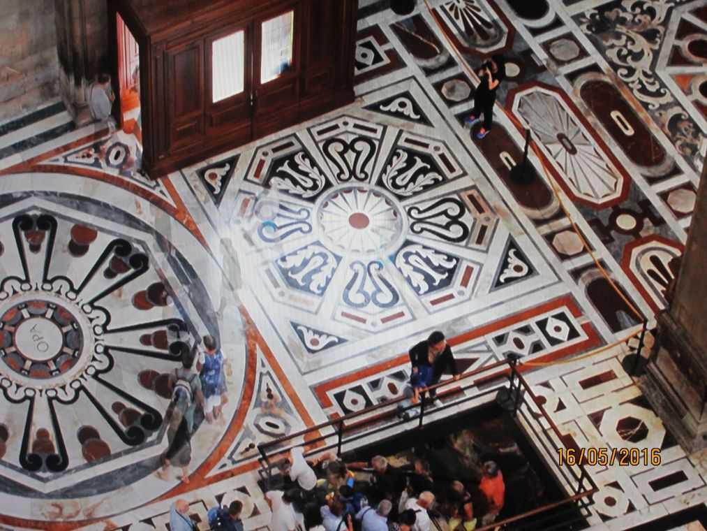 Интерьер кафедрального собора Флоренции