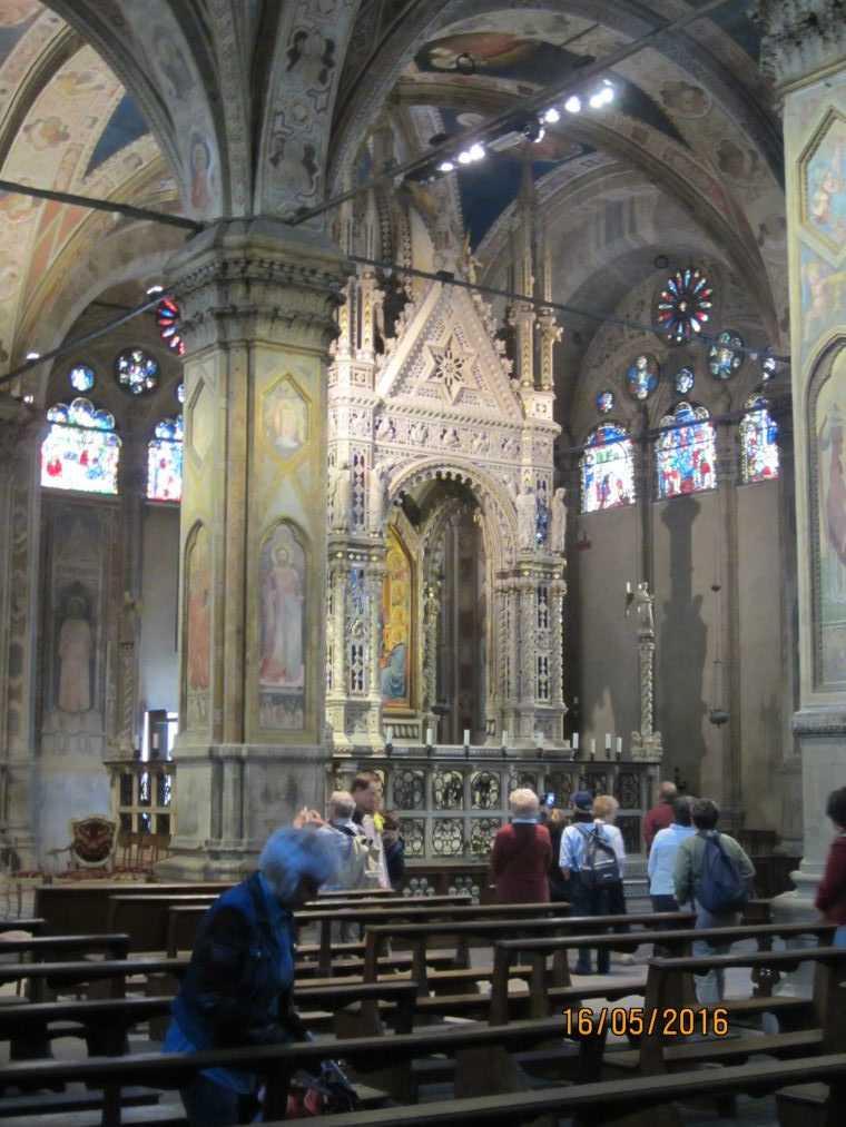 Интерьер Церкви Орсанмикеле