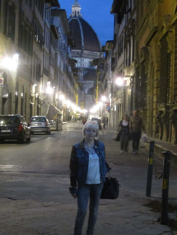 Флоренция. Поздний вечер