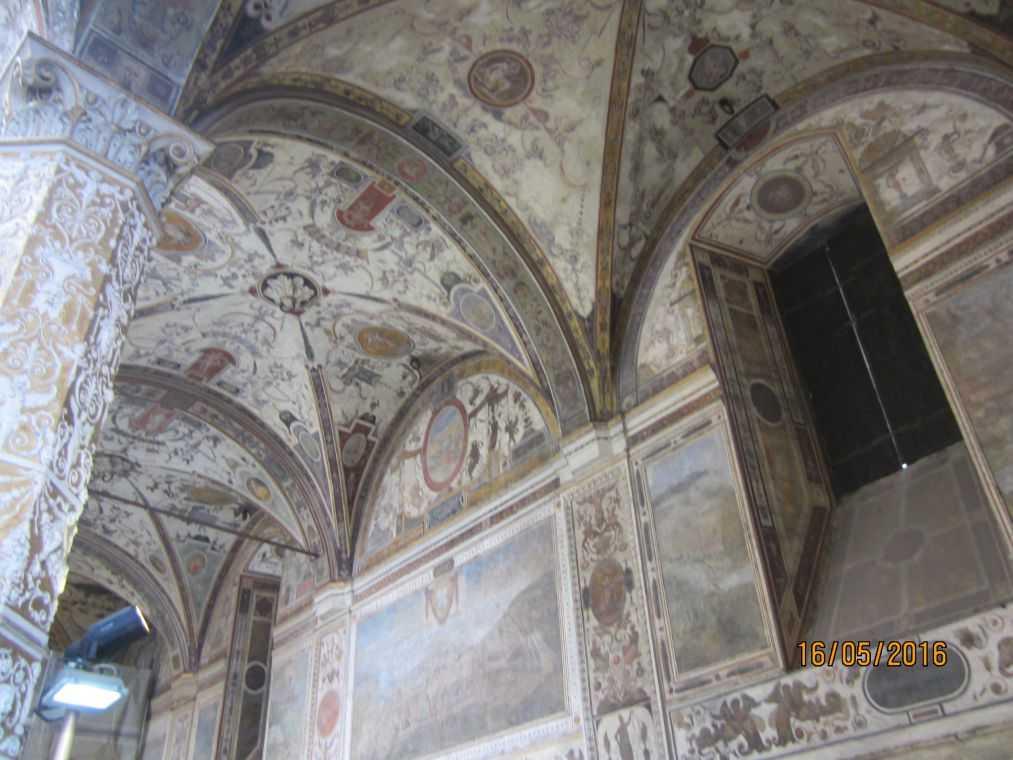 Флоренция. В Палаццо Веккьо