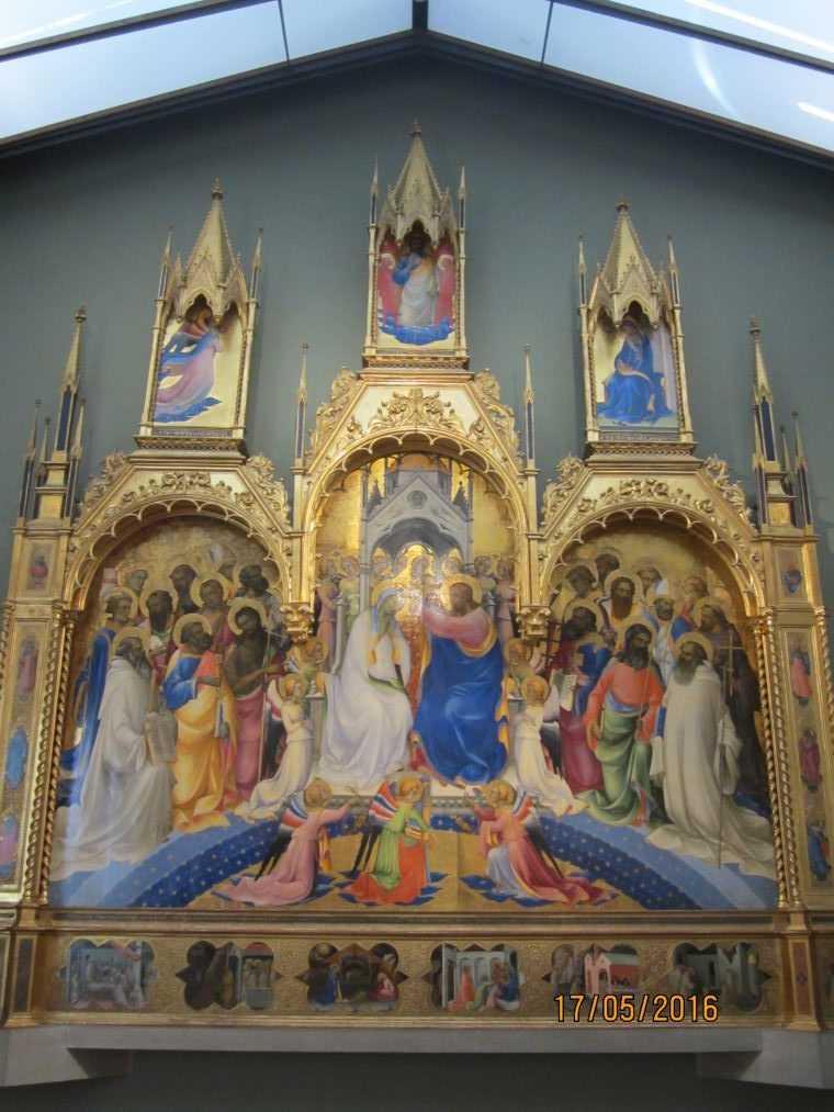 Лоренцо Монако. Коронование Марии