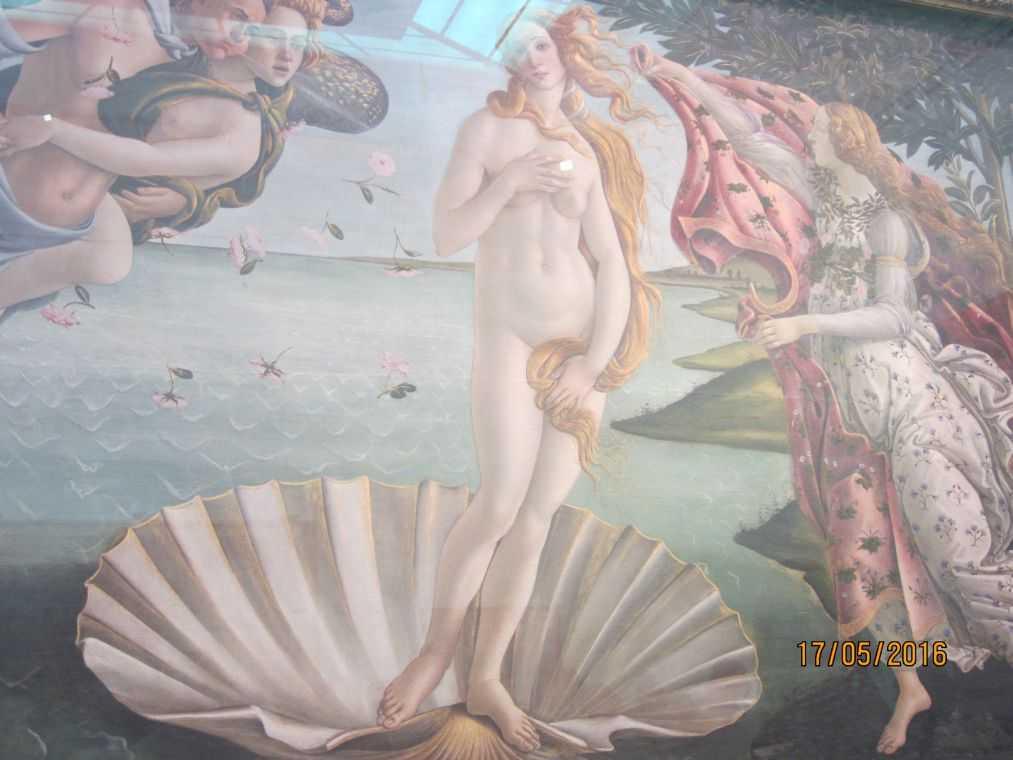 Сандро Боттичелли. Рождение Венеры. 1484