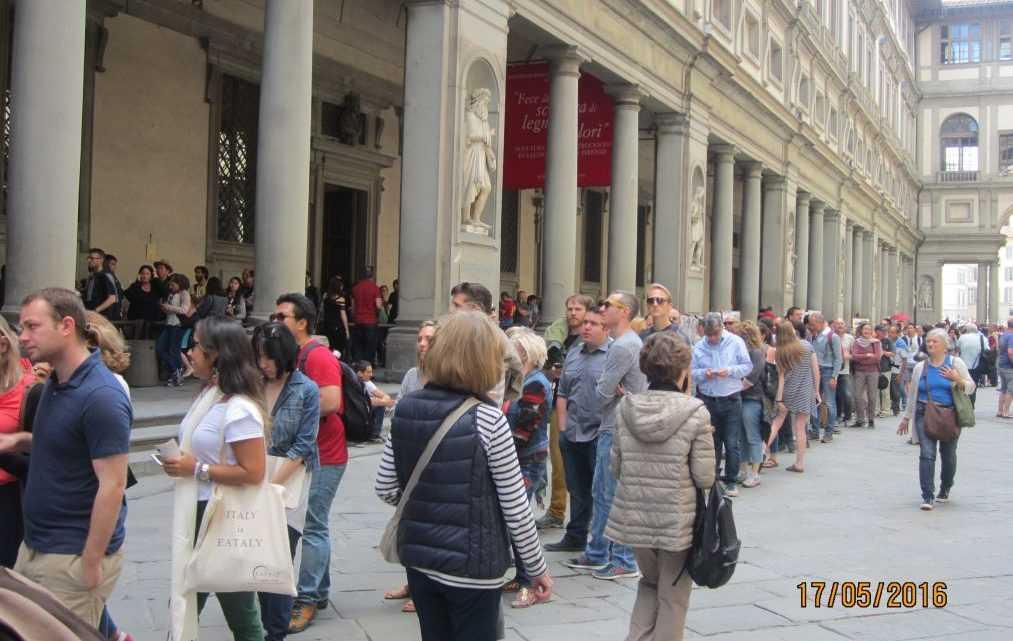 Флоренция. Галерея Уффици (Galleria degli Uffizi)