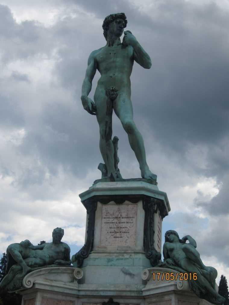 Площадь Микеланджело. Флоренция