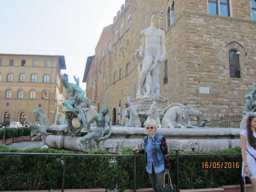 Флоренция. Фонтан Нептуна