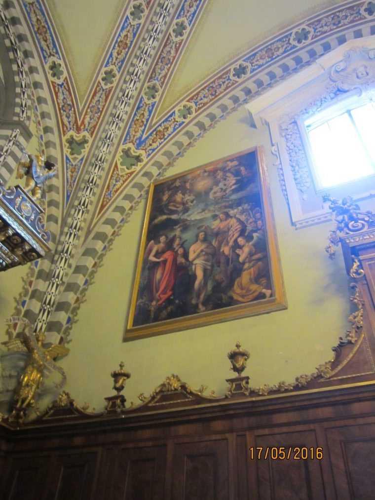 Интерьер Санта-Мария-Новелла (Santa Maria Novella)