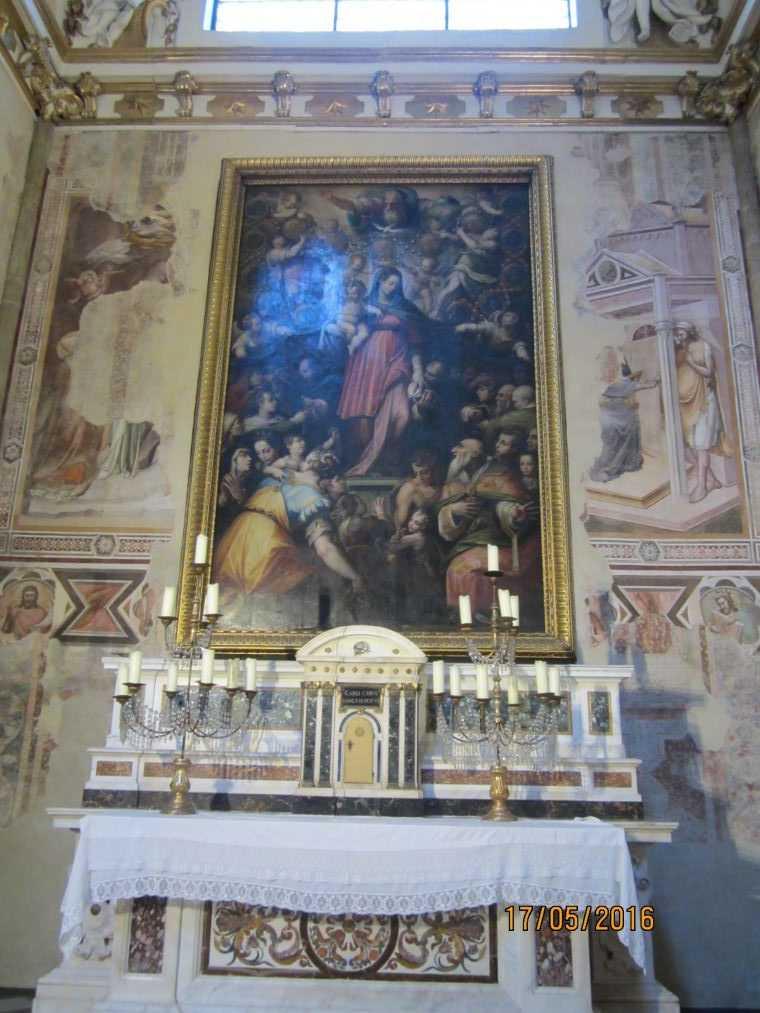 Картина Madonna del Rosario
