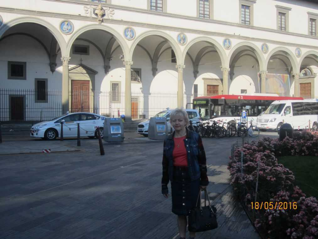 Флоренция. Приют для сирот - Ospedale degli Inocenti