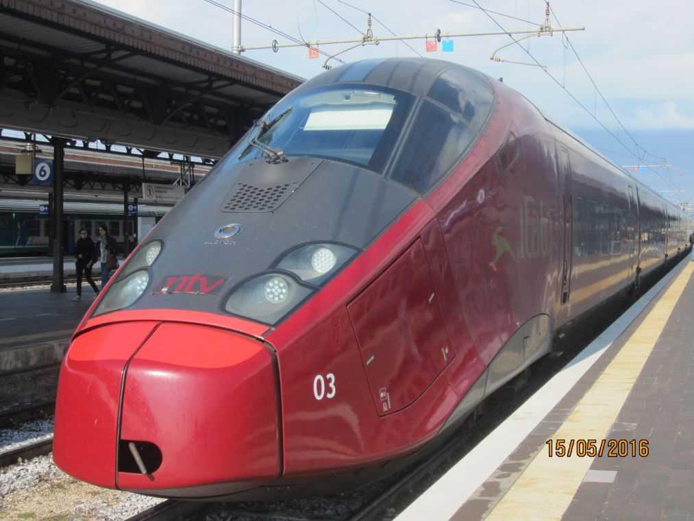 Итальянские железные дороги -Trenitalia. Поезд Freciarossa