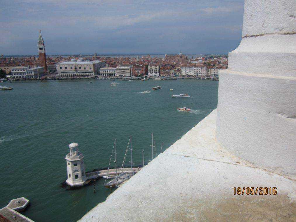 Первые впечатления от встречи с Венецией